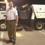 Texarkana Power Sweeper Truck